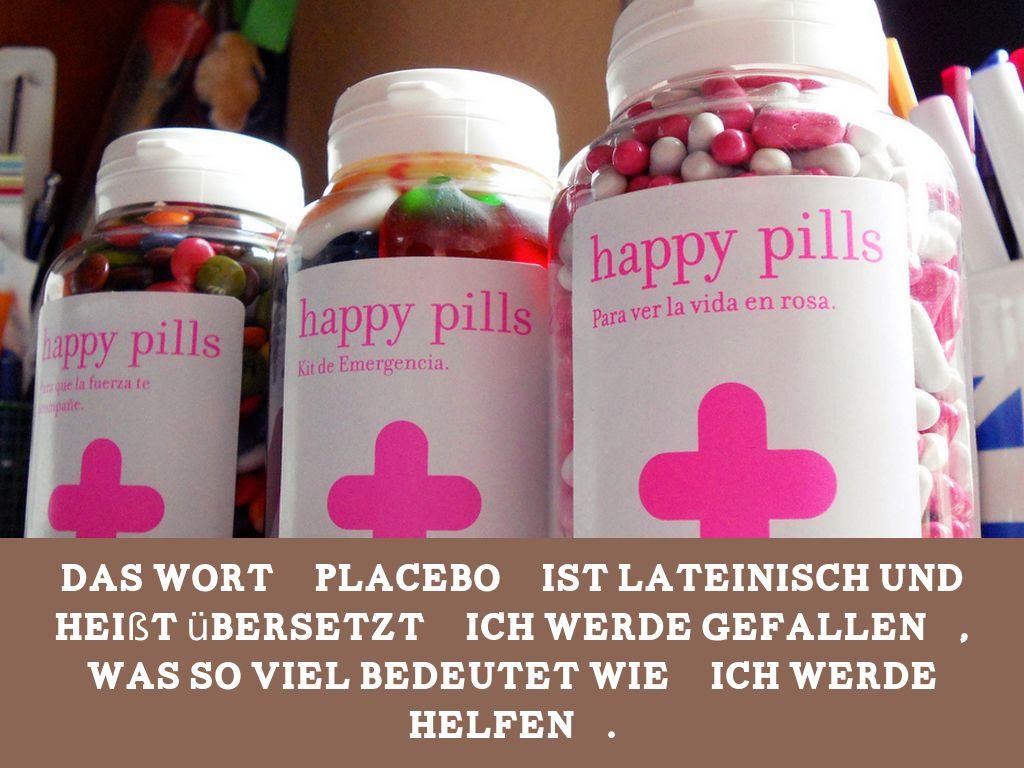 Placebo Zäpfchen