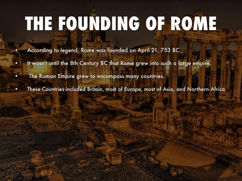 the founding of rome by molly hehman