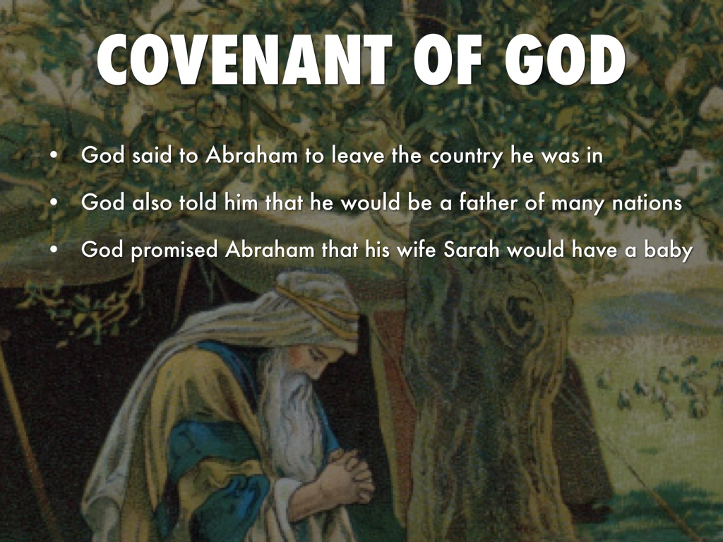 gods covenant with abraham God appears to abraham to make a covenant with him the sign of the covenant is circumcision.
