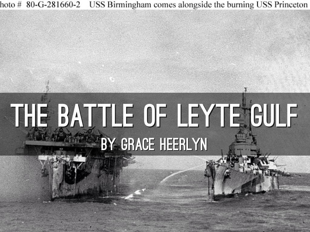 battle of leyte gulf significance