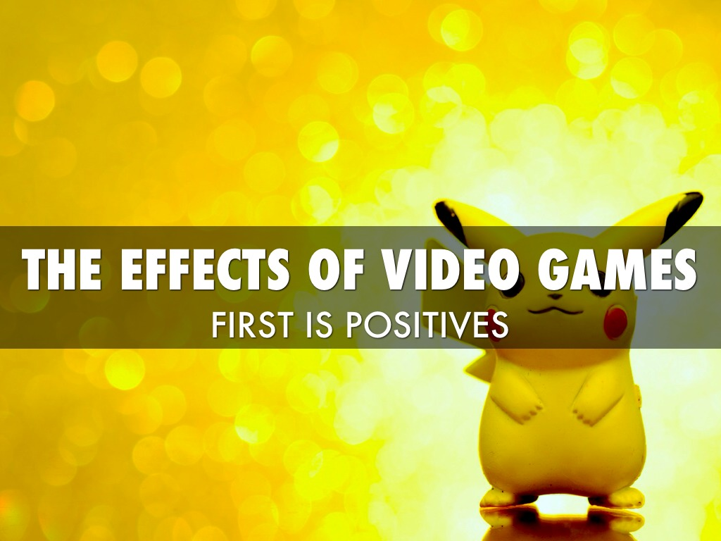 the affects of video games on Chapter 3 the impact of violent video games: an overview craig a anderson and wayne a warburton parents often ask about the effects of violent video games on their.