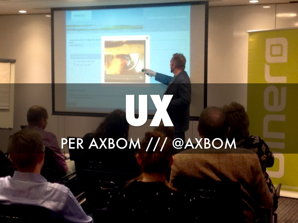 UX /// Per Axbom