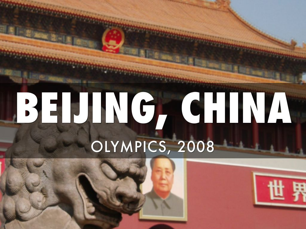 Beijing Olympics Project