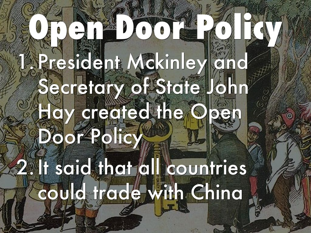 open door policy john hay. Boxer Rebellion Open Door Policy John Hay
