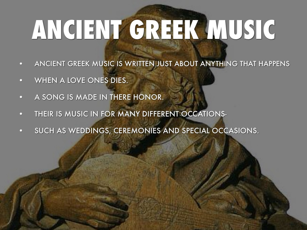 Greek Music by Tristan Woolstenhulme