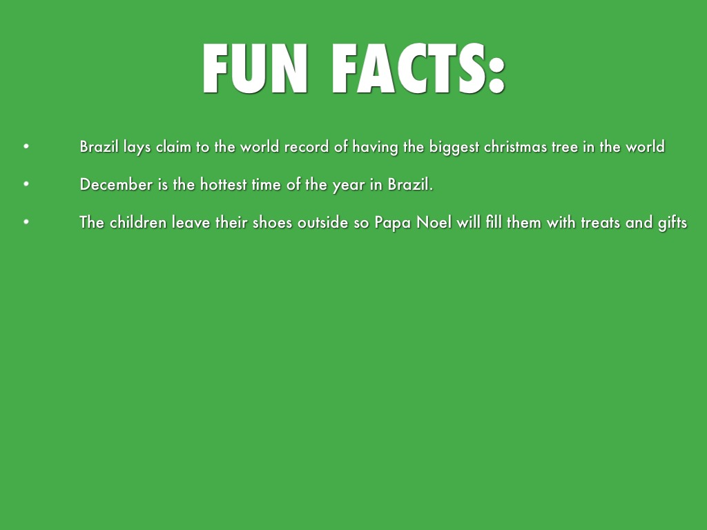 Interesting Facts About Christmas In Brazil on Christmas Decorating Ideas