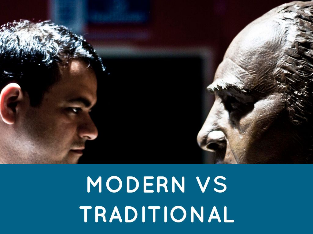modern learning versus traditional learning