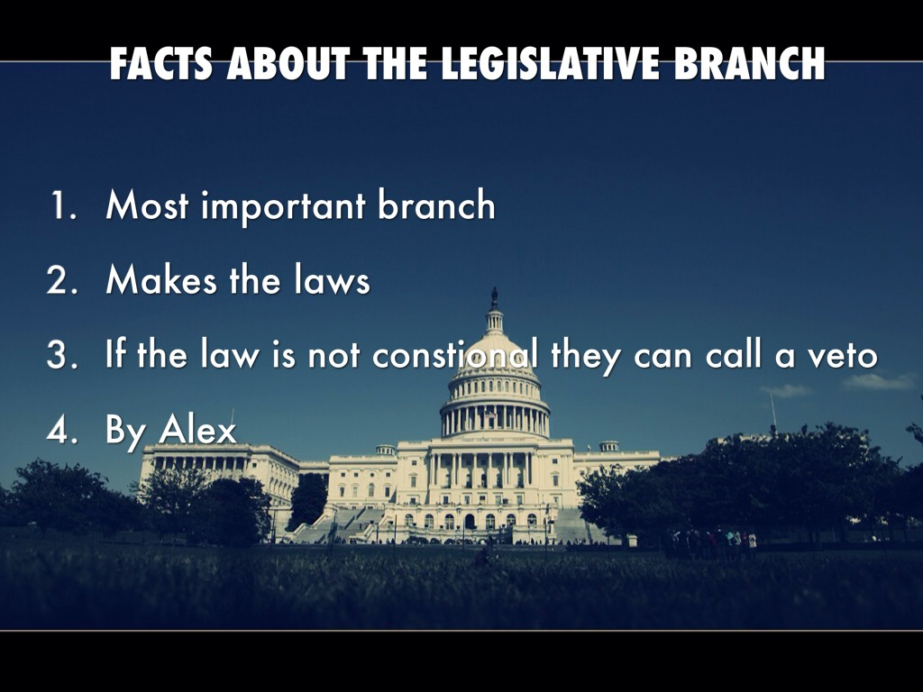 a description of a legislative branch by ryan francom Search the history of over 333 billion web pages on the internet.