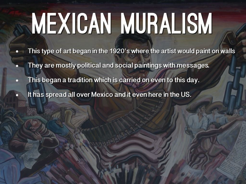 All You Need to Know About Mexican Muralism and Muralists