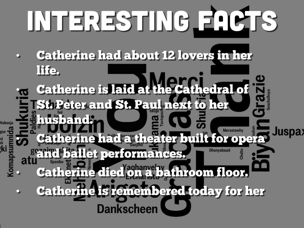 catherine the great bio