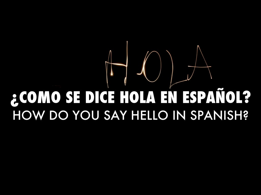 How Does One Say Good Morning In Spanish : Spanish greetings by kaaylaa ashay