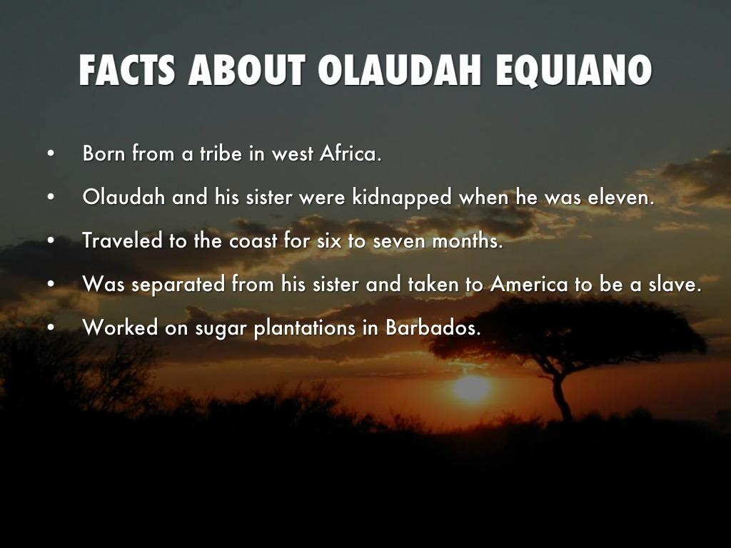 olaudah equiano facts