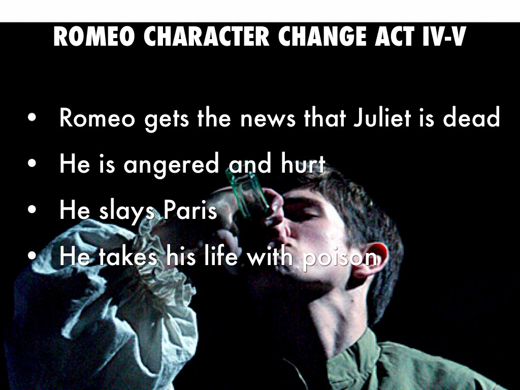 change in romeo and juliet 'romeo and juliet' has become forever associated with love but shakespeare's treatment of this theme is complex and multifaceted.