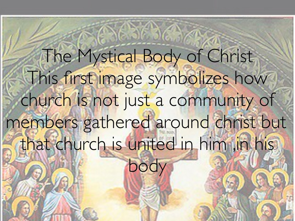 mystical body of christ essay The teaching of the essay xiv: christ, priest and redeemer the mystical body of christ – monsignor canon e myers, ma.