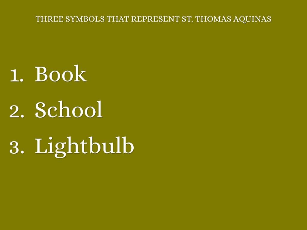 St Thomas Aquinas By Kt2016