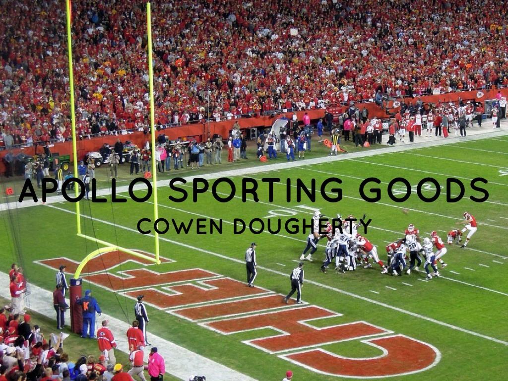 sporting goods essay