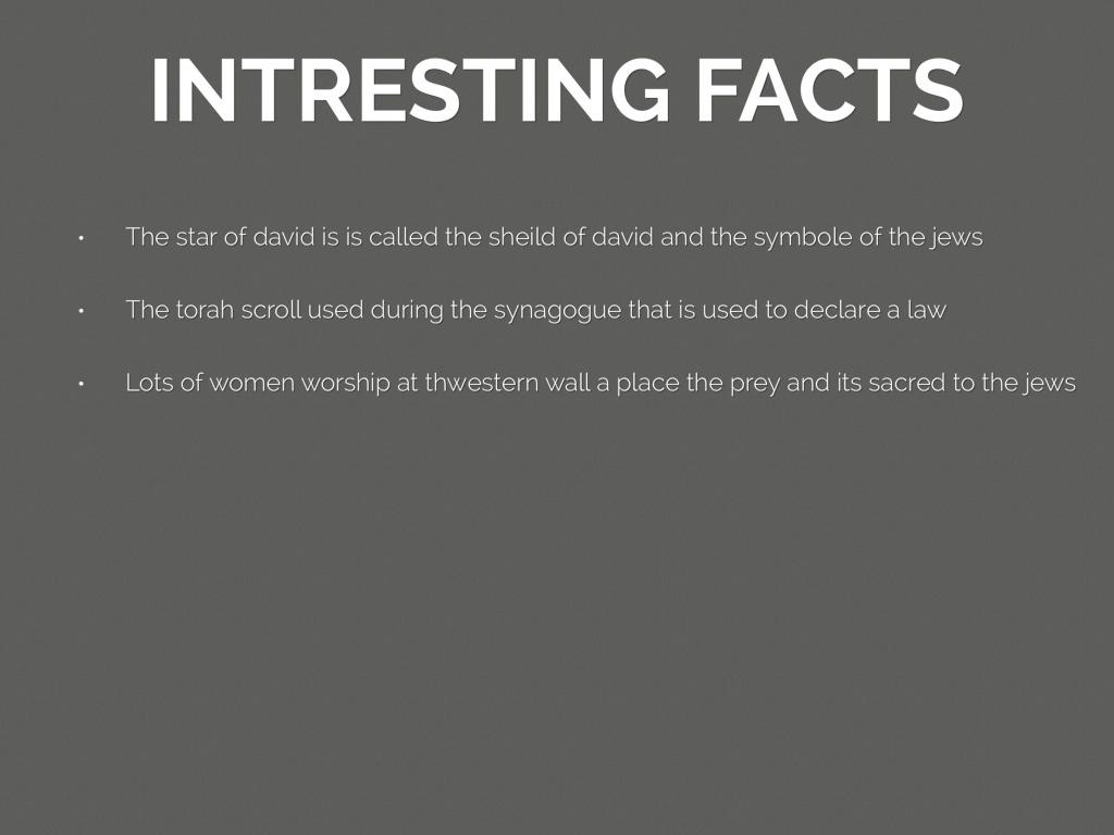 judaism facts