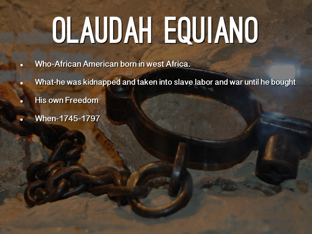 reflective essay on the life of olaudah equiano
