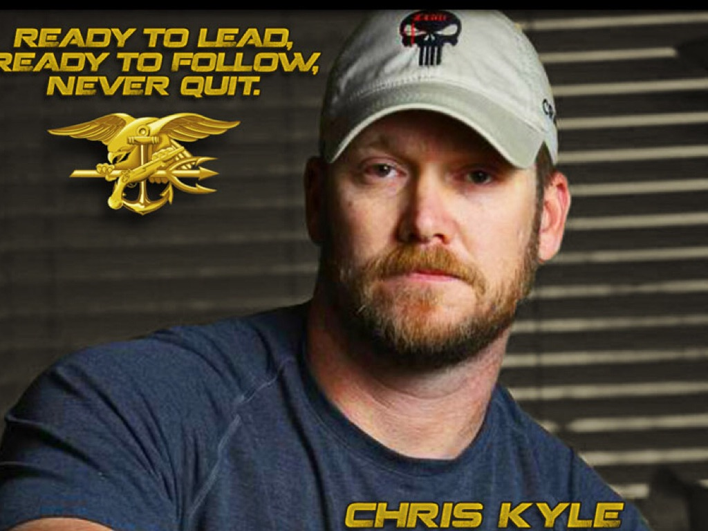 the american war hero chris kyle story Record local tv zero cost american sniper, based on the life of navy seal chris kyle, has the american war hero chris kyle story been a surprise hit at the box office.