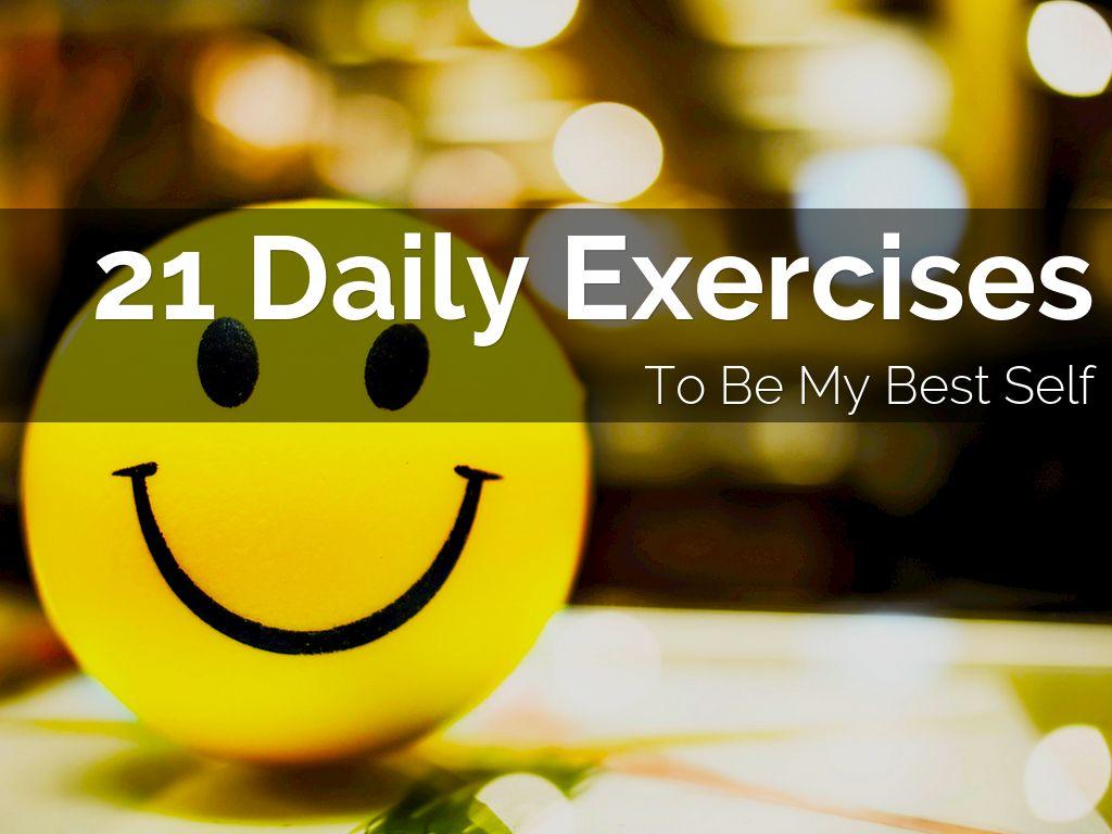 21 Days of Best Self