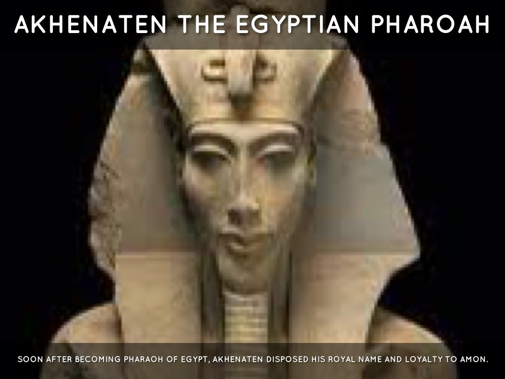 explain why akhenaten moved his capital