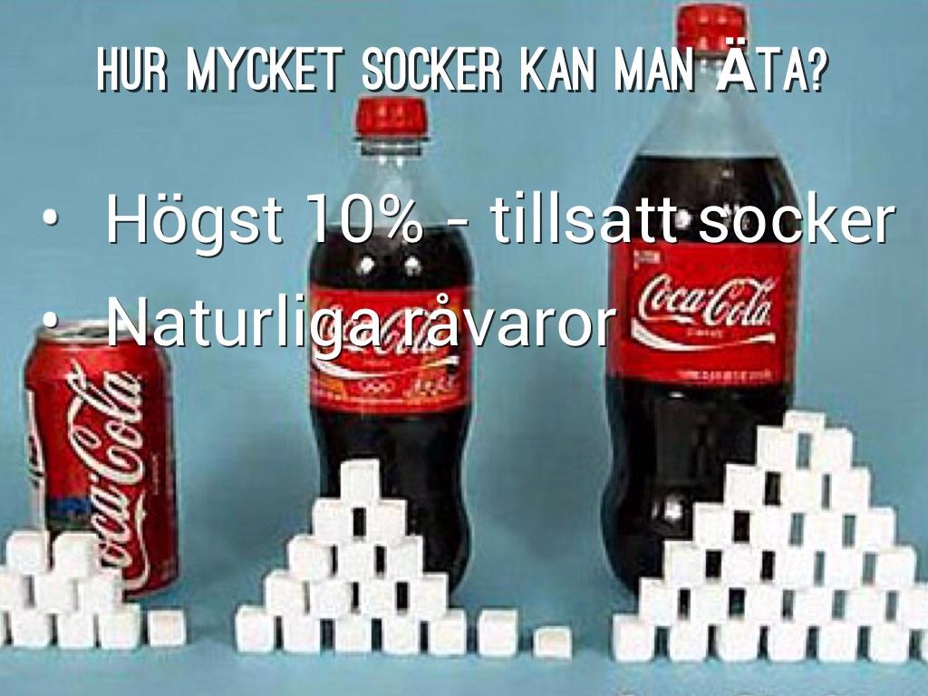 hur mycket socker ska man äta