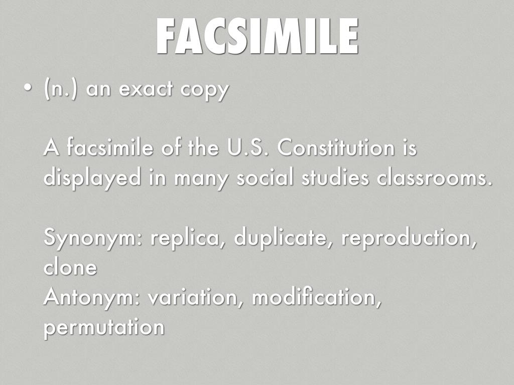 Modification synonym