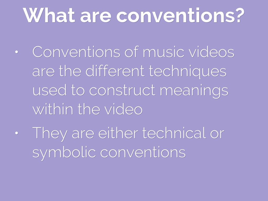 Music video conventions by lucy cort what are conventions conventions of music videos buycottarizona