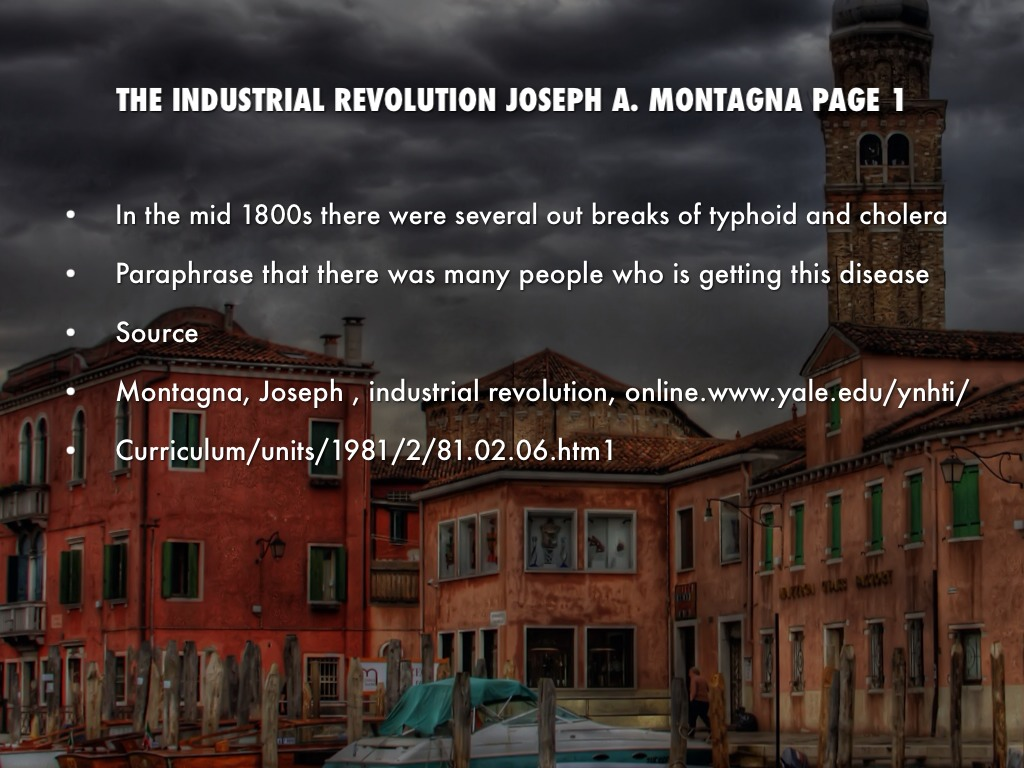 industrialism industrial revolution and late 1800s