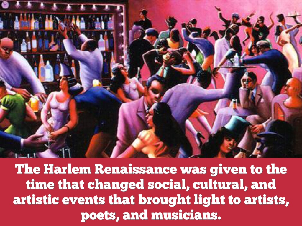 the harlem renaissance a black cultural