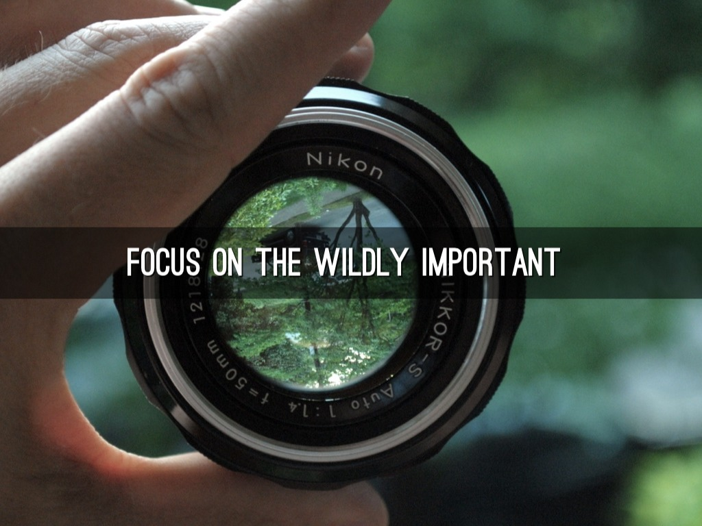 how to keep focus on goals