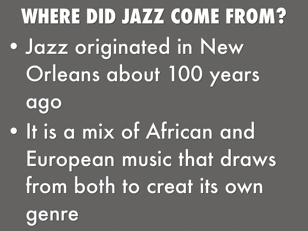 Jazz In 1920s by Cooper Johnson