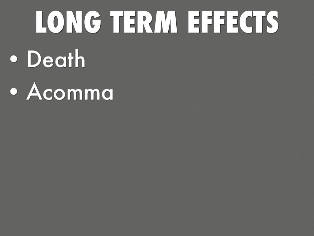 Long Term Effects Of Drinking Lean