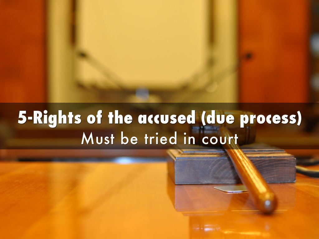 rights of the accused If we cannot secure all our rights, let us secure what we can in all criminal prosecutions, the accused shall enjoy the right to a speedy and public trial.