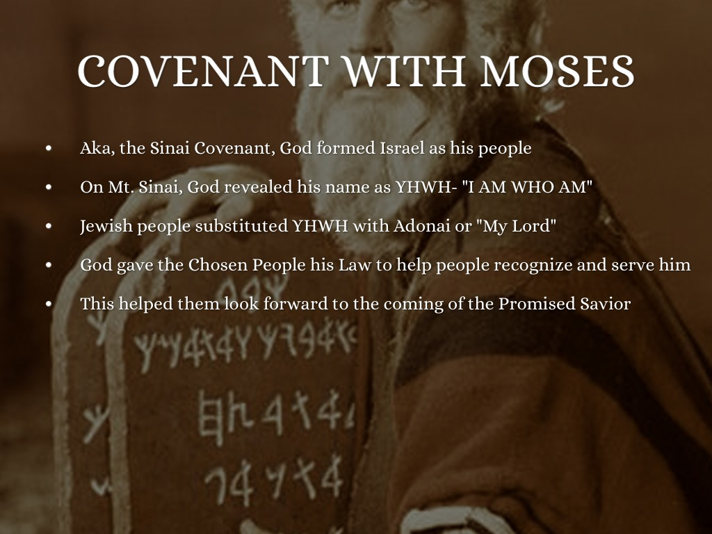 gods covenant with moses essay