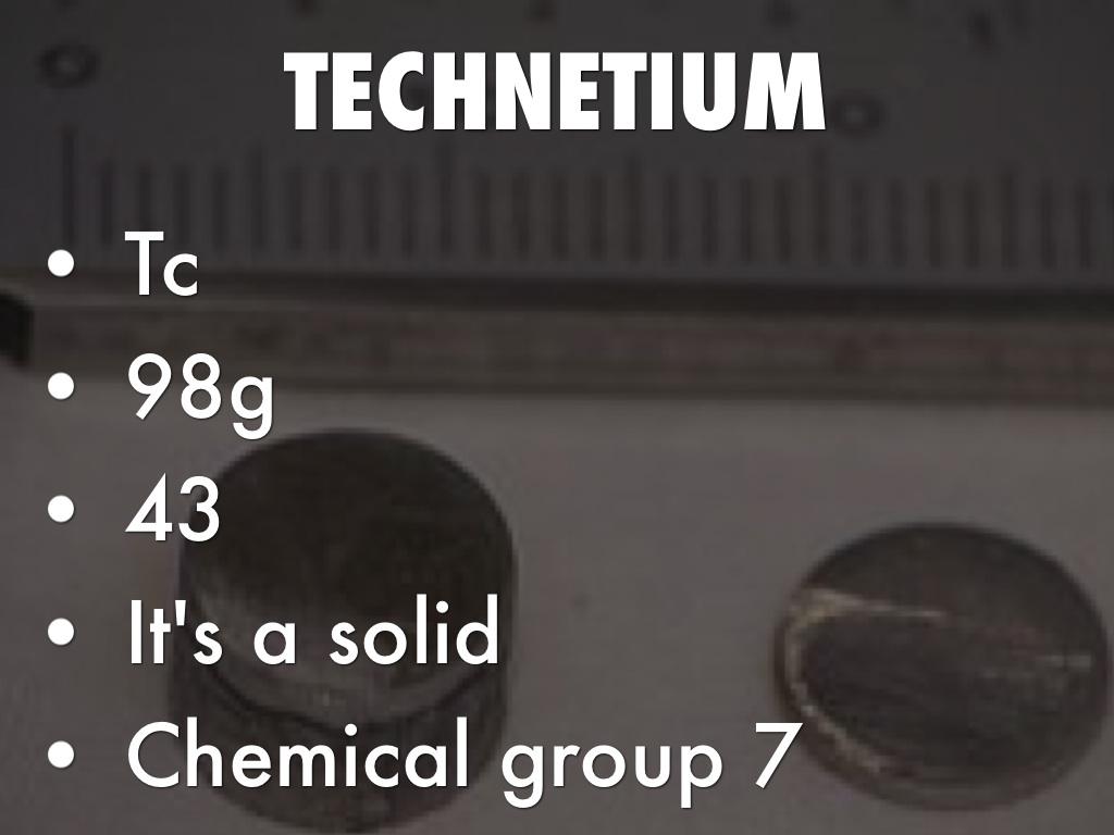 Copy Of Technetium By Breanna Fibranz