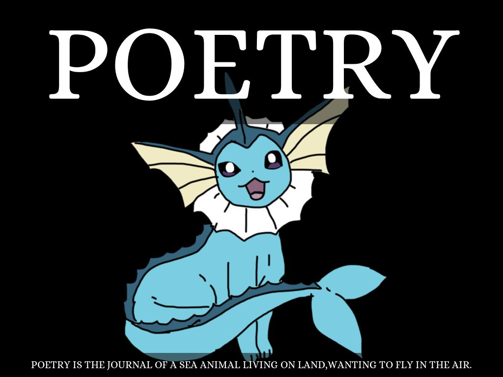 poetry book report Irubric j2359b: used for grading poems written by students free rubric builder and assessment tools.