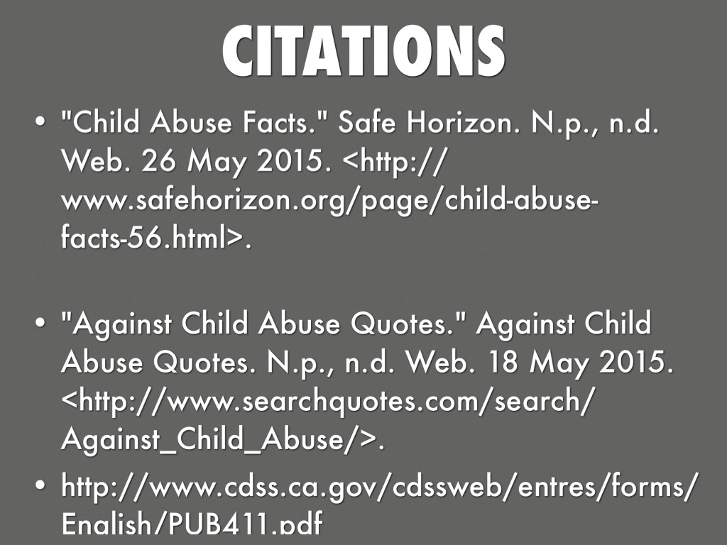 Quotes About Child Abuse Child Abusejoseph Merhi