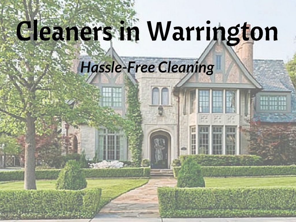 Cleaners in Warrington