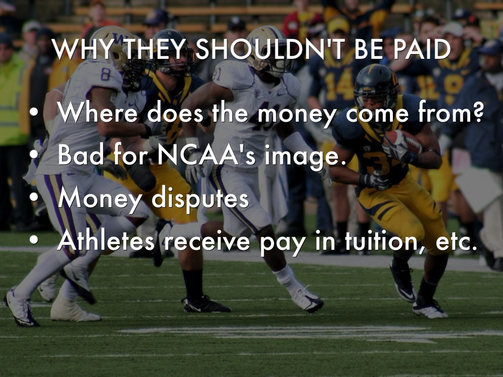 are college athletes paid enough Sports fans are divided over whether college athletes should get paid they shouldn't, and here's why.