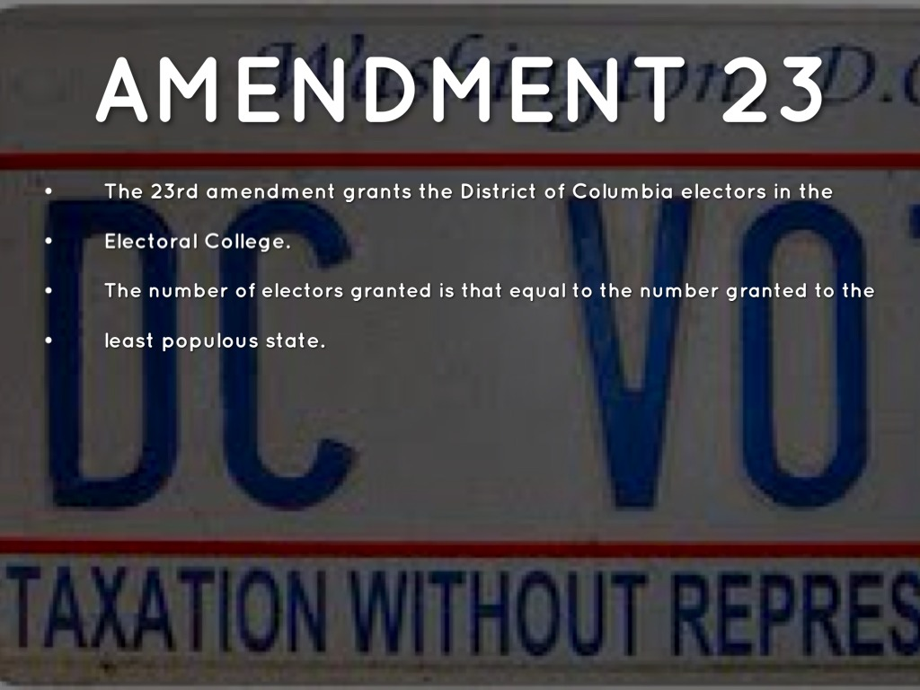 23rd Amendment | www.pixshark.com - Images Galleries With ...