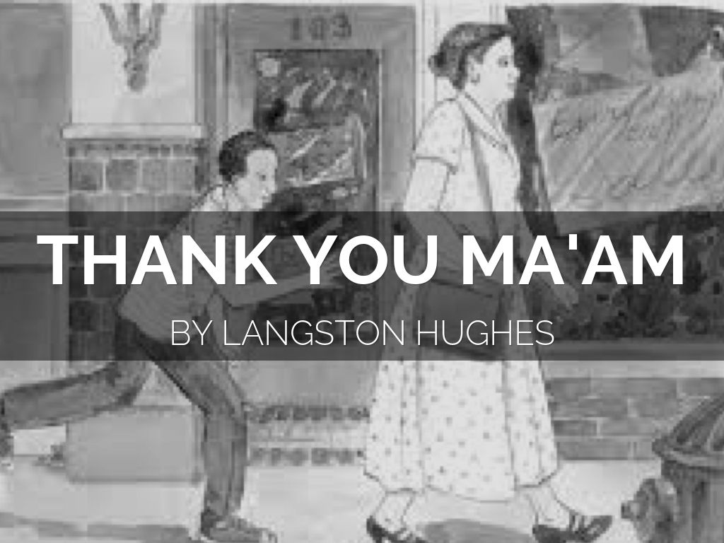 Image result for thank you ma'am