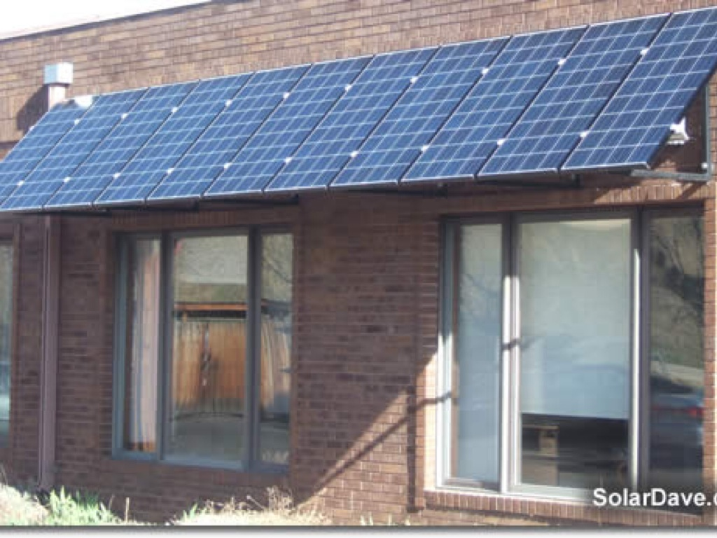 Solar panel awnings natural building blog.