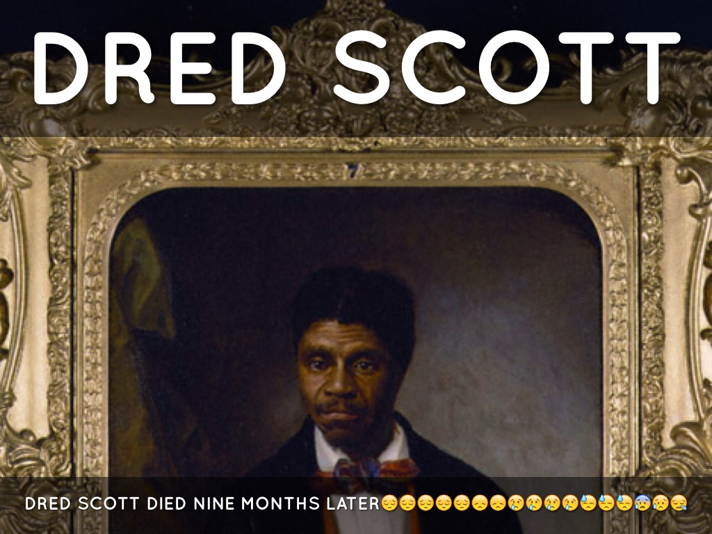 dred scott case In a heated political environment and in the face of chief justice taney's determination to use the dred scott case to resolve fundamental constitutional issues.