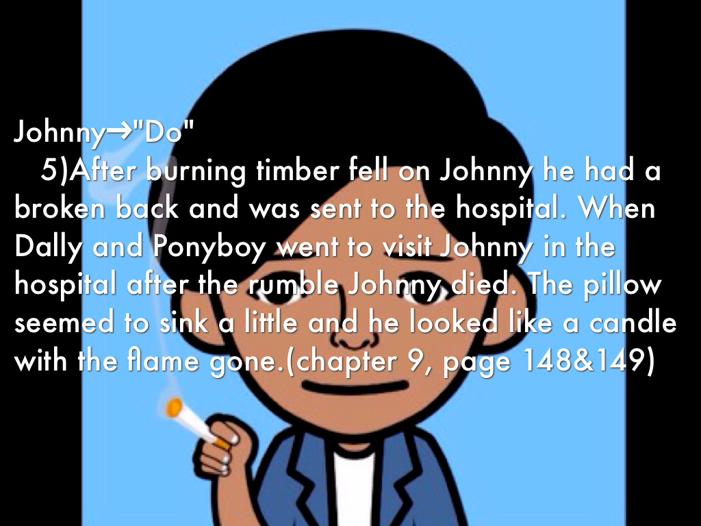 johnny the outsiders do say by juliet beam