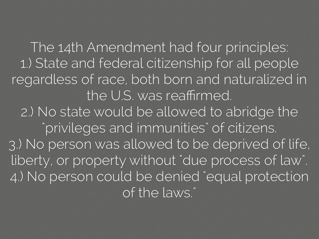 Reconstruction Amendments By Rileyksmith