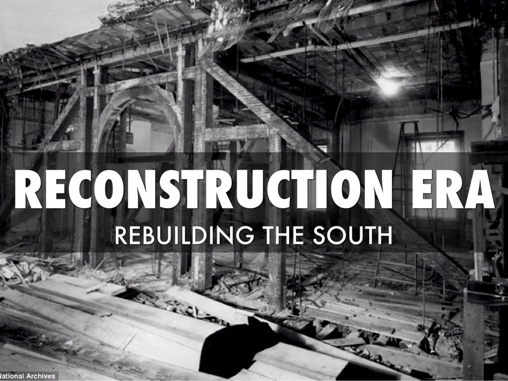 reconstruction of the south after the civil war essay To what degree was reconstruction after the civil war successful essaysreconstruction was successful politically in its attempts to solve the problems of.