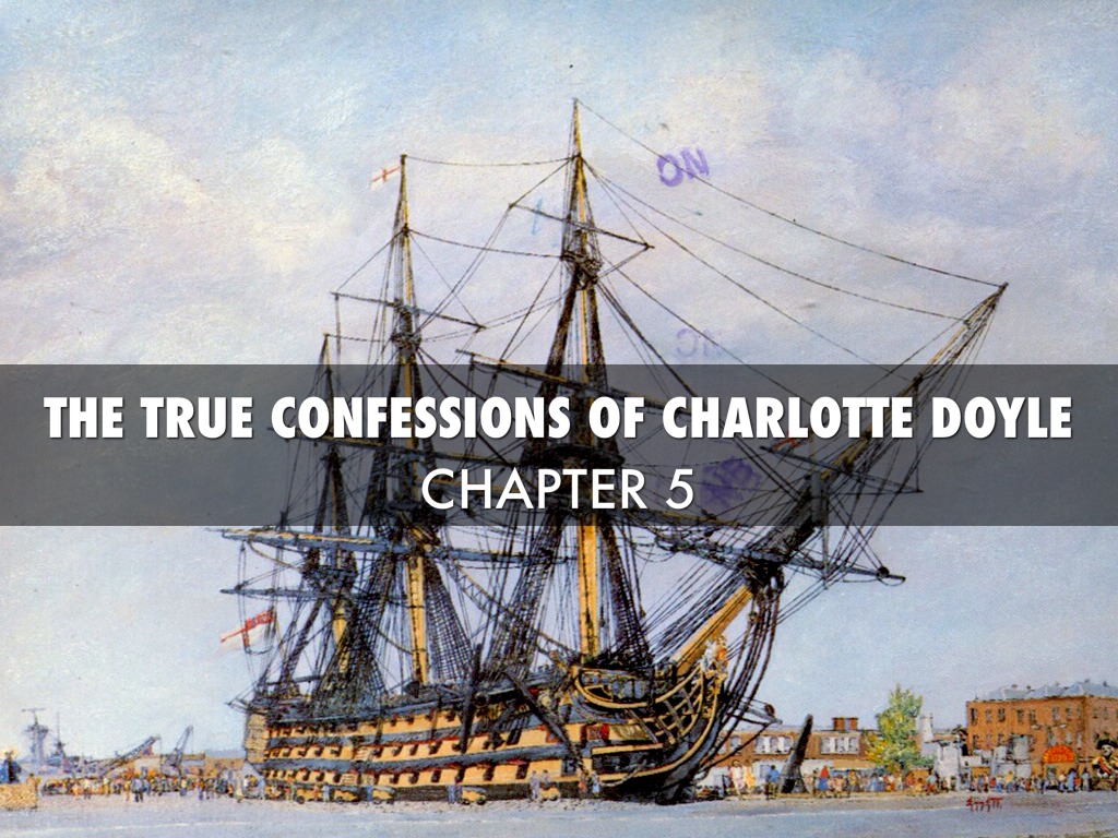 the true confessions of charlotte doyle The true confessions of charlotte doyle by bree 7th grader (abc list, in a powerpoint) a mind-blowing tale •the story of charlotte doyle will surely.
