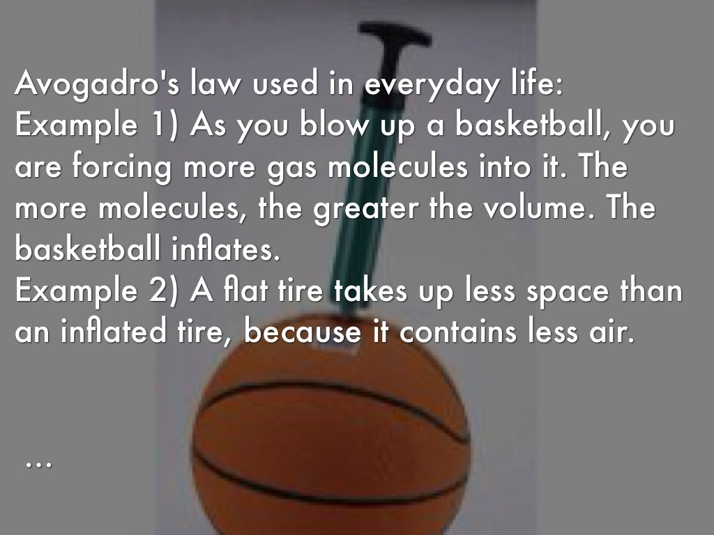 Ideal Gas Law Used In Real Life