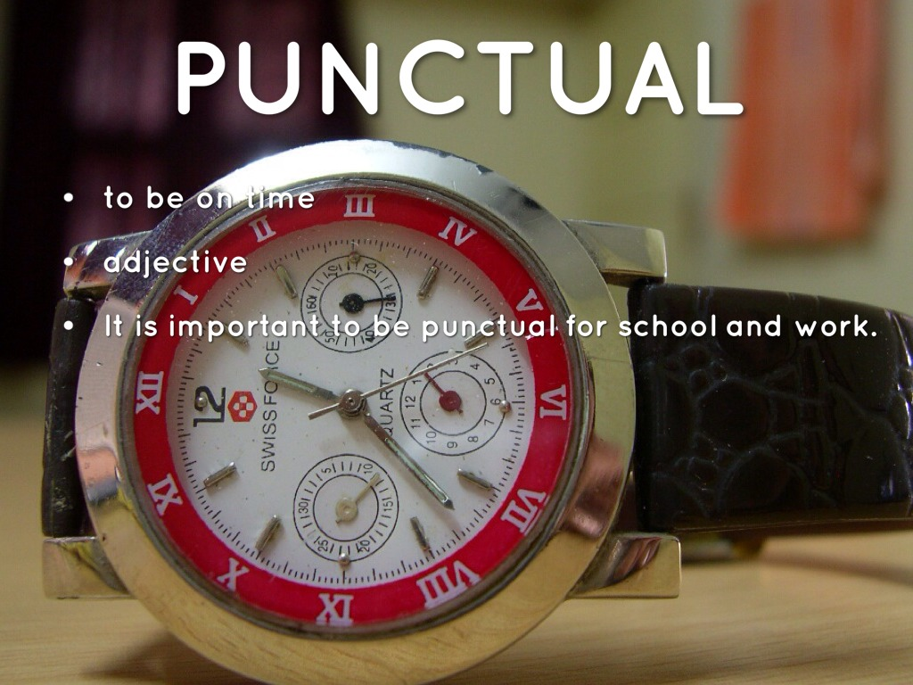 punctuality speech Punctuality is considered to be the noblest of virtues it is the mark of civilized and cultured people  write an essay on the value of punctuality.